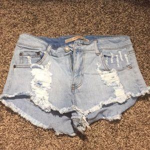 Size 30 jean shorts